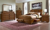 Bedroom Furniture-The Hereford Collection-Hereford Queen Storage Bed