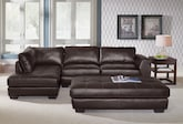 Living Room Furniture-The Ciera Collection-Ciera 2 Pc. Sectional