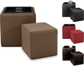 Living Room Furniture-The Tania Collection-Tania Nesting Ottomans