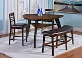Dining Room Furniture-The Lucas Collection-Lucas Counter-Height Table