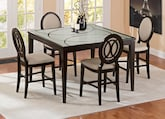 Dining Room Furniture-The Cosmo II Collection-Cosmo II Counter-Height Table