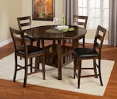 Dining Room Furniture-The Harbor Pointe Collection-Harbor Pointe Counter-Height Table