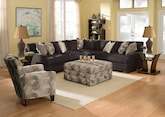 Living Room Furniture-The Sydney Collection-Sydney 3-Piece Sectional