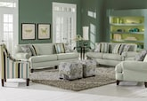 Living Room Furniture-The Concord Aqua Collection-Concord Aqua Sofa