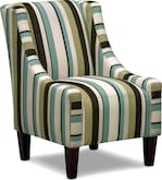 Living Room Furniture-Concord Chocolate Accent Chair