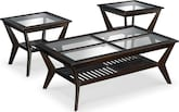 Accent and Occasional Furniture-Devlin 3-Pack Tables