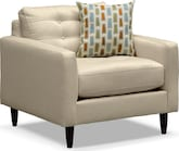 Living Room Furniture-Highline Cream Chair