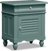 Kids Furniture-Mayflower Blue Nightstand