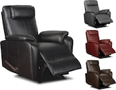 Living Room Furniture-The Barlow Collection-Barlow Rocker Recliner