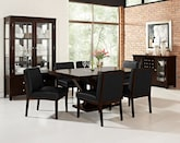 Dining Room Furniture-The Reese Black Collection-Reese Table