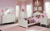 Kids Furniture-The Grace Collection-Grace Twin Bed