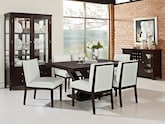 Dining Room Furniture-The Reese White Collection-Reese Table