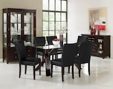 Dining Room Furniture-The Vero Black Collection-Vero Dining Table