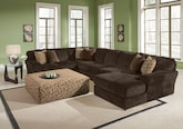 Living Room Furniture-The Victor Collection-Victor 3-Piece Sectional