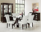 Dining Room Furniture-The Vero White Collection-Vero Dining Table