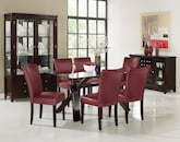 Dining Room Furniture-The Vero Red Collection-Vero Dining Table
