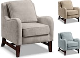 Living Room Furniture-The Barton Collection-Barton Accent Chair