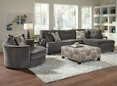Living Room Furniture-The Catalina Gray II Collection-Catalina Gray II 2 Pc. Sectional