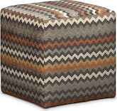 Living Room Furniture-Mojo Cube Ottoman