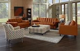 Living Room Furniture-The Highline Tangerine Collection-Highline Tangerine Sofa