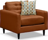 Living Room Furniture-Highline Tangerine Chair