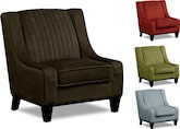 Living Room Furniture-The Nouveau Collection-Nouveau Accent Chair