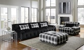 Living Room Furniture-The Montage Collection-Montage 3 Pc. Sectional