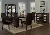 Dining Room Furniture-The Costa Brown Collection-Costa Table