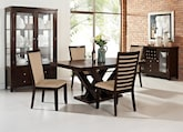 Dining Room Furniture-The Reese Costa Camel Collection-Reese Table