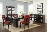Dining Room Furniture-The Costa Paso Red Collection-Costa Table