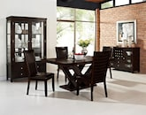 Dining Room Furniture-The Reese Costa Brown Collection-Costa Brown Chair