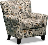 Living Room Furniture-Albion Accent Chair