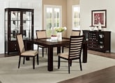 "Dining Room Furniture-The Karmon Costa Camel Collection-Karmon 60"" Dining Table"