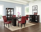 Dining Room Furniture-The Costa Vero Red Collection-Costa Table