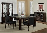 "Dining Room Furniture-The Karmon Reese Black Collection-Karmon 60"" Dining Table"