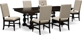 Dining Room Furniture-Juliette 7 Pc. Dining Room