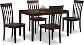 Dining Room Furniture-Rockridge 5 Pc. Dinette