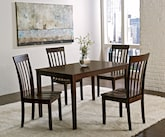 Dining Room Furniture-The Mission Hills Collection-Mission Hills 5 Pc. Dinette