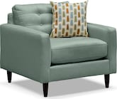 Living Room Furniture-Highline Blue Chair