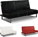 Living Room Furniture-The Mezzo Collection-Mezzo Futon Sofa Bed with Sound System