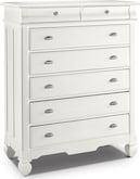 Kids Furniture-Magnolia White Chest
