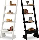 Accent and Occasional Furniture-The Plantation Cove Collection-Plantation Cove Leaning Bookshelf