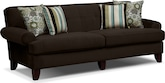 Living Room Furniture-Concord Chocolate Sofa