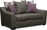 Living Room Furniture-Caterina Loveseat