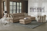 Living Room Furniture-The Mystique Collection-Mystique 2 Pc. Sectional