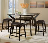 Dining Room Furniture-The Devlin Collection-Devlin Counter-Height Table