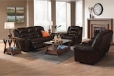 Living Room Furniture-Galveston 3 Pc. Reclining Living Room