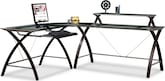 Home Office Furniture-Haley 3 Pc. Workstation