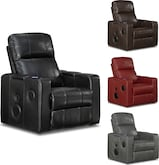 Living Room Furniture-The Skylar Collection-Skylar Home Theater Recliner