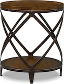 Accent and Occasional Furniture-Erie Round End Table